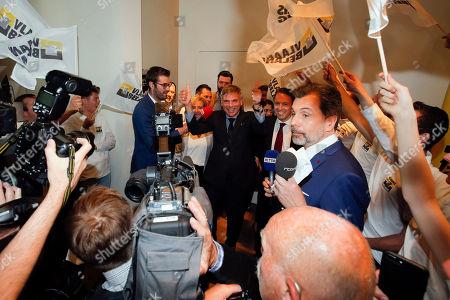 Editorial picture of European Parliament election in Belgium, Londerzeel - 26 May 2019