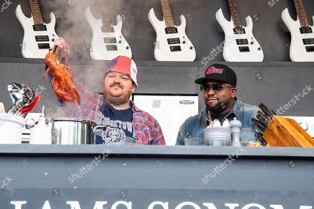 Matty Matheson, Big Boi. Matty Matheson, left, and Big Boi are seen at the BottleRock Napa Valley Music Festival at Napa Valley Expo, in Napa, Calif