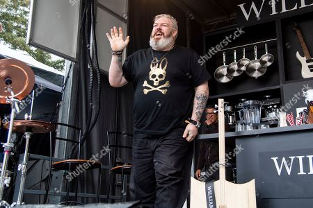 Kristian Nairn is seen at the BottleRock Napa Valley Music Festival at Napa Valley Expo, in Napa, Calif