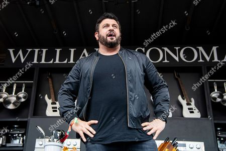 Adam Richman is seen at the BottleRock Napa Valley Music Festival at Napa Valley Expo, in Napa, Calif