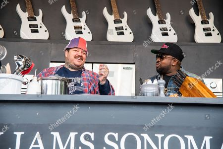 Stock Image of Matty Matheson, Big Boi. Matty Matheson, left, and Big Boi are seen at the BottleRock Napa Valley Music Festival at Napa Valley Expo, in Napa, Calif