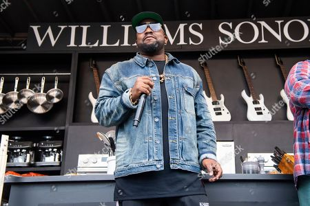 Big Boi is seen at the BottleRock Napa Valley Music Festival at Napa Valley Expo, in Napa, Calif