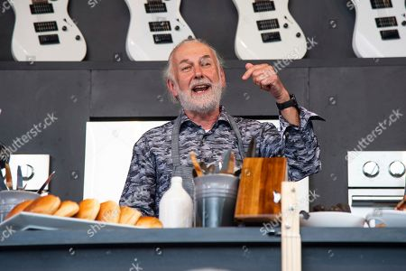 Stock Photo of Hubert Keller is seen at the BottleRock Napa Valley Music Festival at Napa Valley Expo, in Napa, Calif