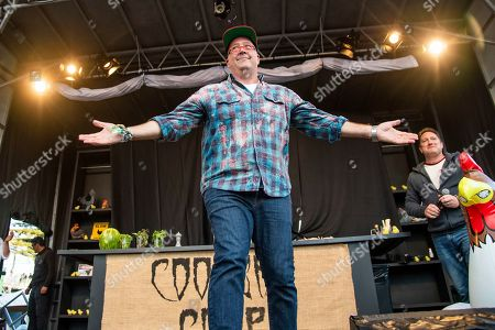 Andrew Zimmern is seen at the BottleRock Napa Valley Music Festival at Napa Valley Expo, in Napa, Calif