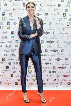 Editorial picture of HOAS event, Carlo Pignatelli fashion show, Arrivals, Turin, Italy - 25 May 2019
