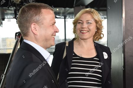 Chairman Petteri Orpo and candidate Henna Virkkunen