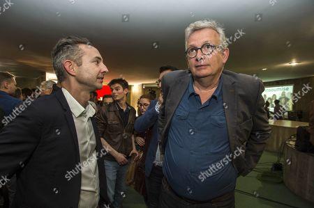 Ian Brossat and Pierre Laurent