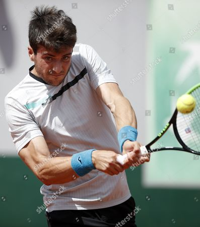 Editorial photo of French Open tennis tournament at Roland Garros, Paris, France - 27 May 2019