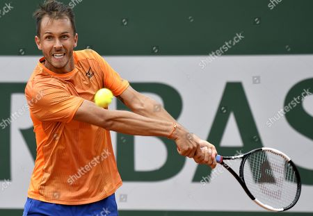Editorial image of French Open tennis tournament at Roland Garros, Paris, France - 27 May 2019