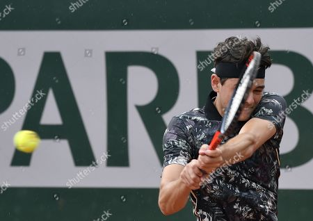 Editorial picture of French Open tennis tournament at Roland Garros, Paris, France - 27 May 2019