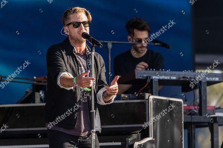 Stock Photo of OneRepublic - Ryan Tedder and Drew Brown