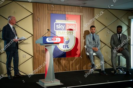 Stock Image of Jim White presents a Q&A with Lee Hendrie and Darren Bent in the Wembley Suite