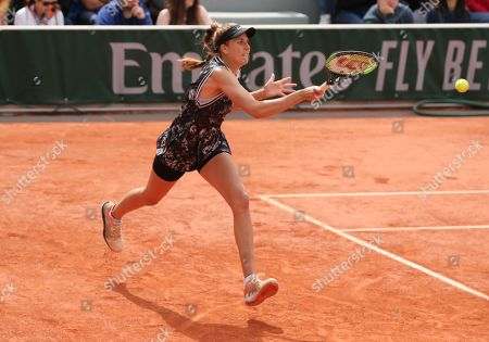 Germany's Antonia Lottner during 1st round defeat