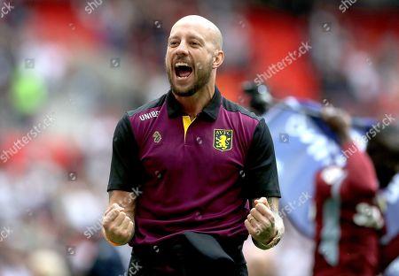Editorial photo of Aston Villa v Derby County, EFL Sky Bet Championship Playoff Final, Football, Wembley Stadium, London, UK - 27 May 2019