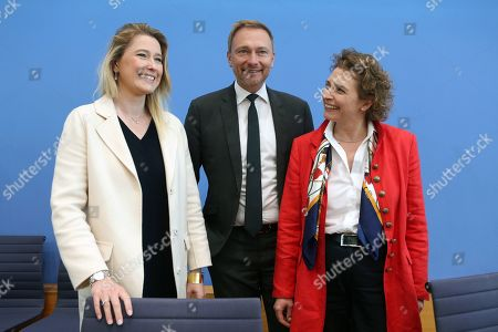 Editorial photo of German Free Democrats give press conference after European elections, Berlin, Germany - 27 May 2019