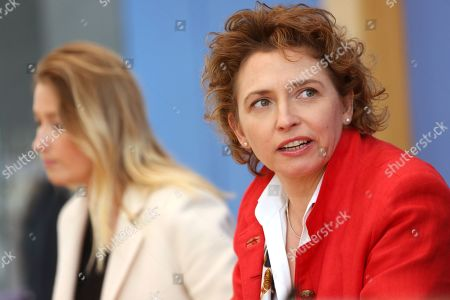 Editorial image of German Free Democrats give press conference after European elections, Berlin, Germany - 27 May 2019