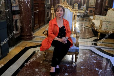 Editorial photo of Interview with Isabel Allende, Madrid, Spain - 27 May 2019