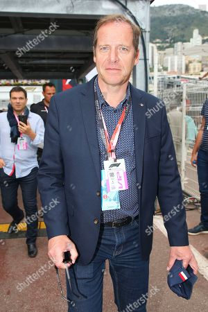 Christian Prudhomme attends the Grand Prix
