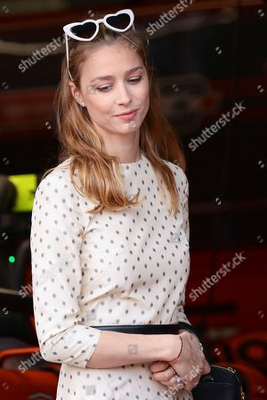 Beatrice Borromeo attending the Monaco F1 Grand Prix