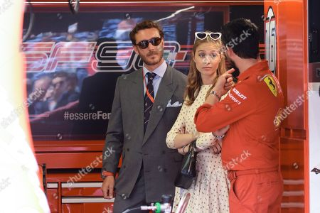 Beatrice Borromeo and Pierre Casiraghi attending the Monaco F1 Grand Prix