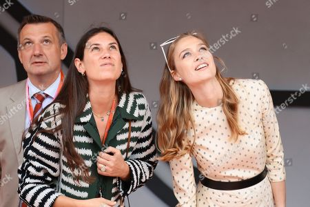 Tatiana Santo Domingo Casiraghi, Beatrice Borromeo attending the Monaco F1 Grand Prix