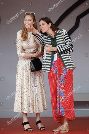 Tatiana Santo Domingo Casiraghi and Beatrice Borromeo attending the Monaco F1 Grand Prix