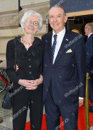 Ingemar Eliasson and Mrs Carin Eliasson
