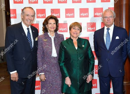 Jan Eliasson, Queen Silvia, Michelle Bachelet and King Carl Gustaf