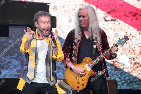 Paul Rodgers and Howard Leese of Bad Company