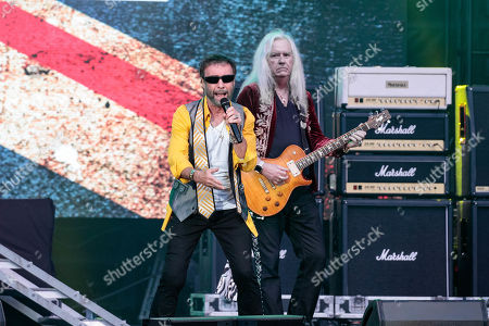 Stock Picture of Paul Rodgers and Howard Leese of Bad Company