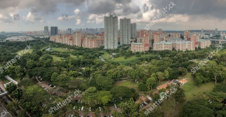 (12/42) A panoramic view of Bishan-Ang Mo Kio Park and surrounding urban green lungs in Singapore, 04 May 2019. Singapore has a green reputation as the Garden City, a vision of its former Prime Minister, the late Lee Kuan Yew. There are about two million trees planted along roads as well as in parks which occupy an area of 25 square km. Somewhere in every big Asian city, there is a green pocket, patch, or park, serving as a vital green lung in a body of concrete, but in most Asian cities they are far too few. Asia claims 99 of the worlds 100 most polluted cities. Air pollution and improving air quality in cities across the world is the theme of World Environment Day 2019, marked on 05 June 2019.