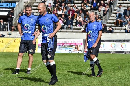Editorial photo of French football and rugby Legends match, Bordeaux, France - 27 May 2019