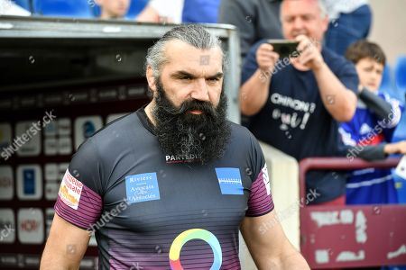 Former rugby player Sebastien Chabal