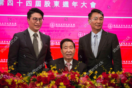 Lee Shau-kee, Peter Lee Ka-kit, Martin Lee Ka-shing. Henderson Land Development's founder and chairman Lee Shau-kee, center, accompanied with his two sons Peter Lee Ka-kit, right, and Martin Lee Ka-shing announces his retirement after the company's general meeting in Hong Kong, . Lee Shau-kee, Hong Kong's second-richest man retired as chairman and managing director of Henderson Land Development