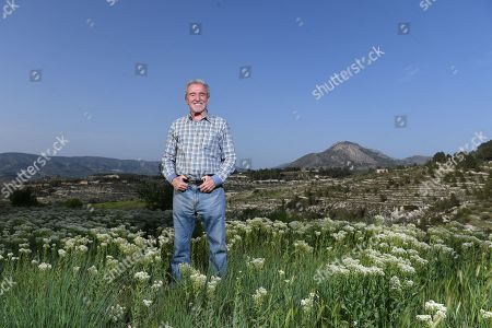 Stock Picture of Terry Venables Feature. Photographed At His Hotel Near Alicante Spain Pic Andy Hooper/daily Mail.