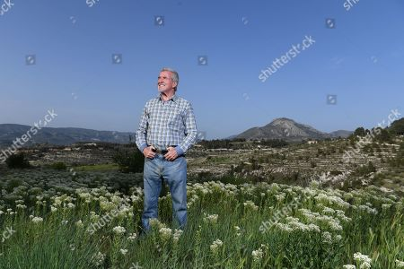 Editorial picture of Terry Venables Feature. Photographed At His Hotel Near Alicante Spain Pic Andy Hooper/daily Mail.