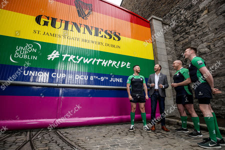 Editorial photo of GUINNESS Gates Transformed To Support The 2019 Union Cup Dublin, Dublin  - 28 May 2019