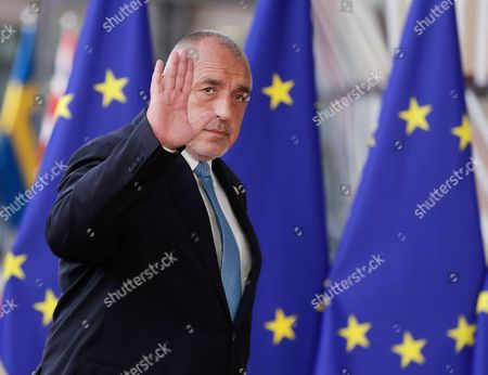 Bulgaria?s Prime Minister Book Borissov  arrives at a special EU summit in Brussels, Belgium, 28 May 2019. Two days after the European Parliament elections, EU heads of state or government will gather for a summit to discuss the outcome of the vote and start the nomination process for the heads of the EU institutions.