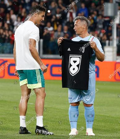 Cristiano Ronaldo, Paolo Belli