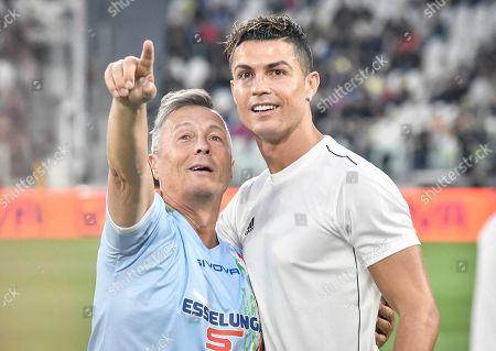 Paolo Belli, Cristiano Ronaldo