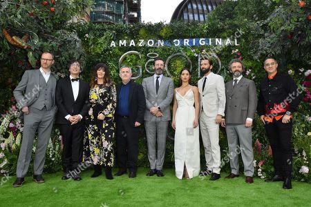 Mark Gatiss, Neil Gaiman, Josie Lawrence, Douglas Mackinnon, Jon Hamm, Adria Arjona, David Tennant, Michael Sheen and Rob Wilkins