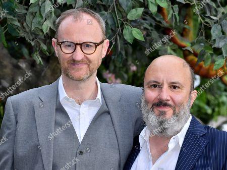Mark Gatiss and Paul Chahidi