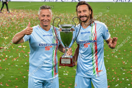 Editorial image of Partita Del Cuore Charity Match, Turin, Italy - 27 May 2019