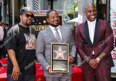 Ice Cube, F. Gary Gray and Tyrese Gibson