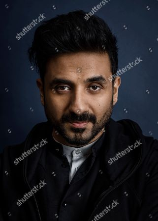 Vir Das poses for a portrait, in New York