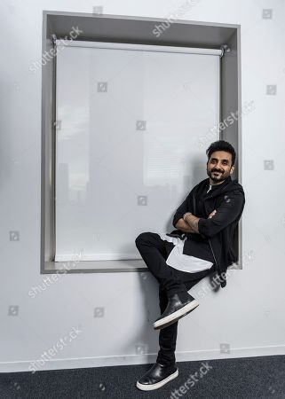 Stock Picture of Vir Das poses for a portrait, in New York