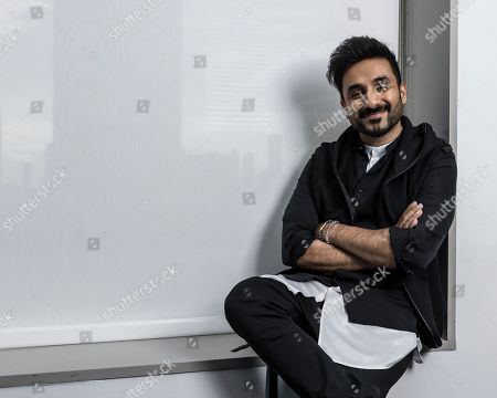 Stock Photo of Vir Das poses for a portrait, in New York