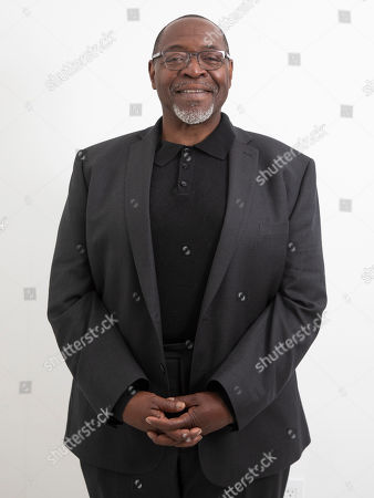 This photo shows actor Chuck Cooper posing for a portrait in New York