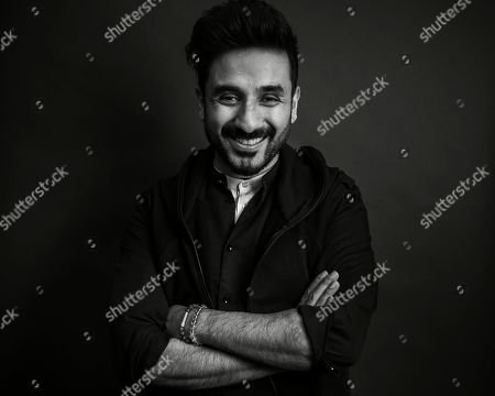 Stock Photo of Vir Das poses for a portrait in New York