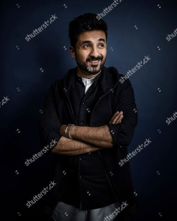Vir Das poses for a portrait in New York
